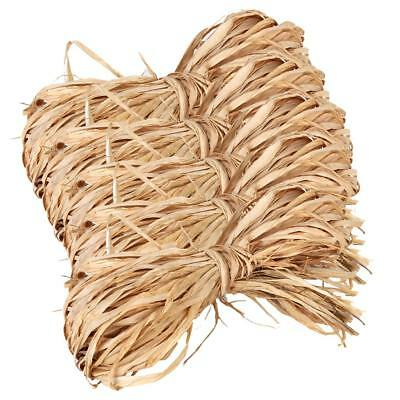 5 Roll Natural Raffia Ribbon for Vintage Flowers Craft Gift Wrap Scrapbook