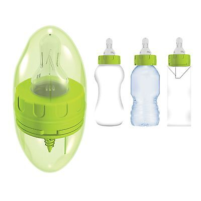 Chillipeeps 3 in 1 Baby Feeding Milk Bottle Teat / Adapter / Spout