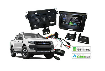 Ford Ranger PX2 Complete Stereo Solution – Kenwood DMX7017BTS – 2016 to 2017