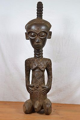 African BIG ndengese statue from kasai DRC Congo