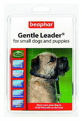 Beaphar Gentle Leader Head Collar Harness SMALL MEDIUM LARGE Stops Pulling