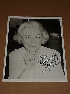 Alice Faye 10 x 8 1978 Photograph (Hand Signed)