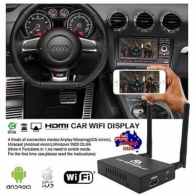 Car WiFi Display System Mirror Link Box DLNA Miracasst Airplay HDMI Android IOS