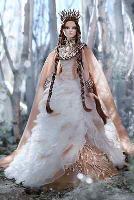 Brand New in Box Barbie Gold Collector Lady of White Woods Doll w shipper box