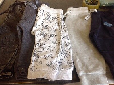Joggers/jeans 9-12 months x 5 pairs