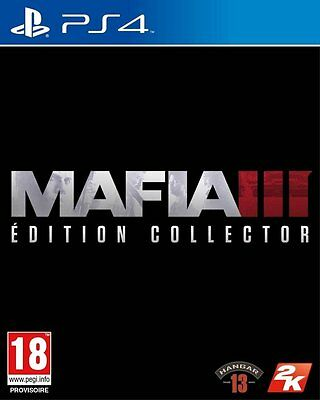 Mafia III 3 Collector PS4 Neuf New !