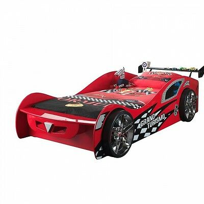 Vipack Funbeds Lit voiture Grand Turismo rouge