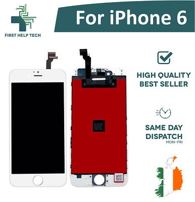"""For iPhone 6 6G 4.7"""" LCD Display Touch Screen Digitizer Assembly Full Unit White"""