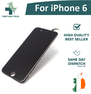 "For iPhone 6 4.7"" LCD Display Touch Screen Digitizer Unit Assembly Black New"