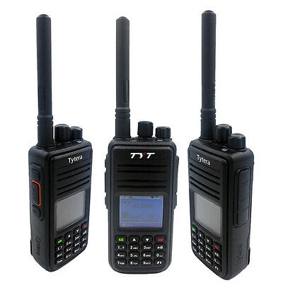 TYT MD-380 VHF Portable Walkie Talkie Digital Transceiver with Colorful Display
