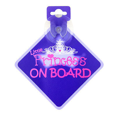 Babies'R'Us Baby on Board Sign - Little Princess On Board
