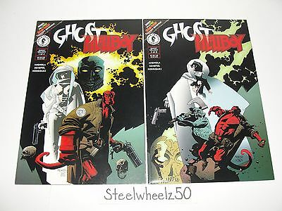Ghost Hellboy #1 & 2 Comic Lot Dark Horse 1997 COMPLETE Mike Mignola Benefiel