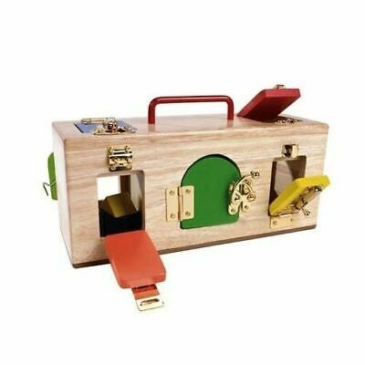 Mamagenius - Lock Activity Box Educational Wooden Toy