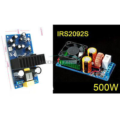 IRS2092S 250W 500W Mono Channel Digital Amplifier HIFI Power Amp Board With FAN