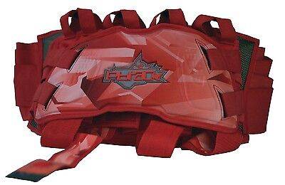 PBRack Jetpack BLOOD RED Pod Pack Harness NEW 4+5+6 up to 15 PODS - SHIPS FREE