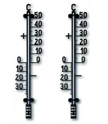 Set of 2 TFA Outdoor Garden Thermometers 12.6004