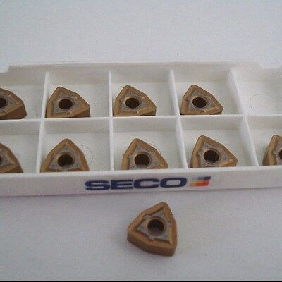 SECO Carbide Turning Inserts WNMG 333W-M3 TP1000 Qty 10 -1784E188