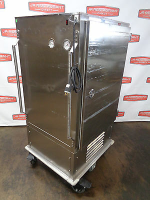 Reduced Price*****ala Cart Dual Temp Food Transport Cart On Casters.