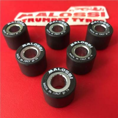 KYMCO People One 125 I 18mm X 14mm x 14gr Malossi Roller Weights Rollers Set
