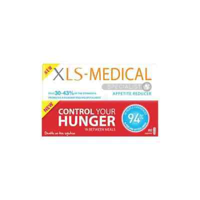 XLS Medical Appetite Reducer Diet Pills Weight Loss - 60 Tablets