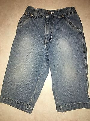 Baby Boys Size 12 Months Blue Denim Jeans Pants By Kenneth Cole Reaction Cotton