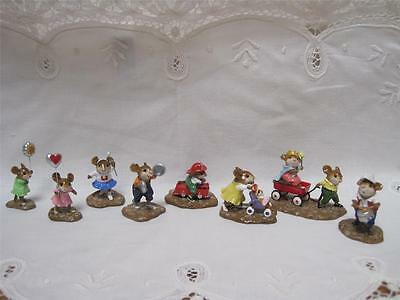 Wee Forest Folk 8 Piece Parade Set - Limited Edition 2006 - Retired - WFF Box