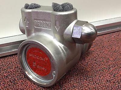 ISO Pure Water Pump Procon (103A100F31) 100 GPH SS PUMP; WITH ADJ. RELIEF