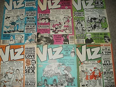 Viz Comics 6 Early Issues 34-39