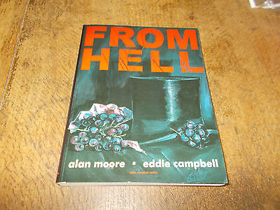 From Hell - Alan Moore & Eddie Campbell -  1st prt collected ed. Nov 1999 - Exc.