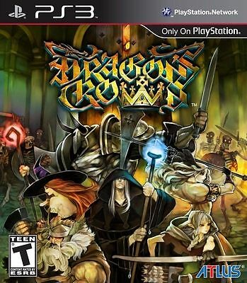Dragons Crown (PlayStation 3, PS3) Brand New