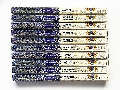 Incense Sticks Frankincense And Myrrh Kamini Brand 10 Box Pack Total 80 Sticks