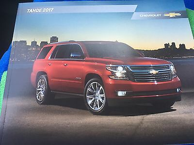 2017 Chevy TAHOE 28-page Original Sales Brochure