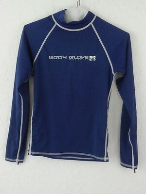Body Glove boys girls XS swimming UVA sun protection Long Sleeve blue shirt