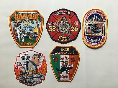 5 - FDNY Company Patches (Lot 3) Fire Department of New York