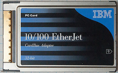 IBM 10/100 Ethernet Cardbus PC Card Adapter P/N 08L3148