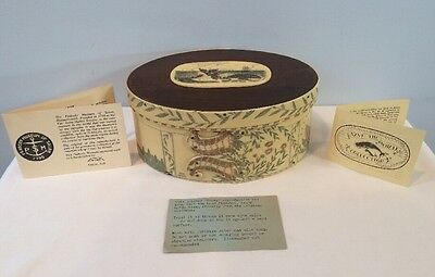 PMS ARTEK Save The Whales Scrimshawed Ditty Box Replica Peabody Museum Of Salem