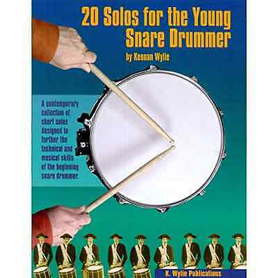 K. Wylie Publications 20SOLOS1 20 Solos For The Young Snare Drummer Volume 1