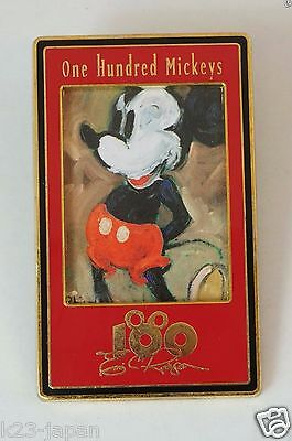 Disney Store JAPAN Pin LE 3500 One Hundred Mickey Pin 27 JDS