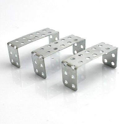 20Pcs 31mm With Holes U-shaped Iron Bracket For Model Accessories