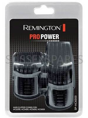 Remington Sp Hc6000 Pro Power Hair Clipper Combs Hc5200 Hc5400 Hc5600 Hc5800 Uk!