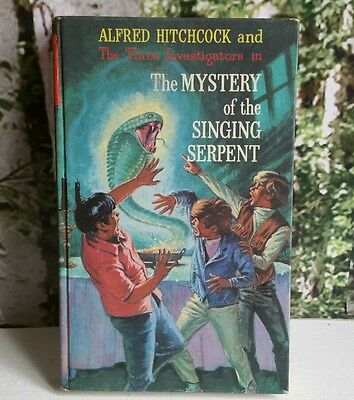 The 3 Three Investigators Mystery Of The Singing Serpent HB 1973 UK Collins 1st