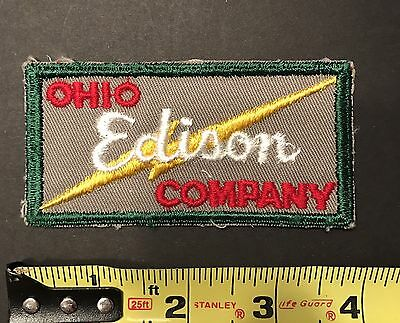 Vintage Ohio Edison Electric Company Patch