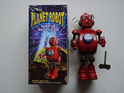 Planet Robot Blechroboter TR 2022  Wind-up  + OVP