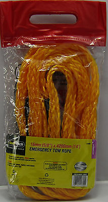 Tow Emergency Towing Rope Heavy Duty Car Road Breakdown Strong Recovery Pull