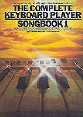 The Complete Keyboard Player Songbook 1 Sheet Music Book Kenneth Baker S116