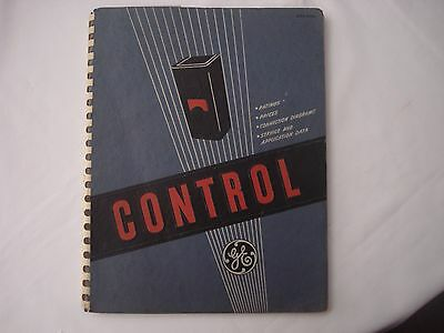 1943 GE General Electric Control Catalog Motor Relay Switch Service Application