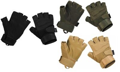 ++ Tactical Handschuhe PROTECT - fingerless / Fingerlos Security SWAT Biker