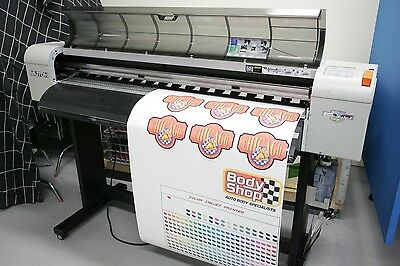 "Mutoh ValueJet VJ-1304A, 54"" Wide Format Solvent Printer"