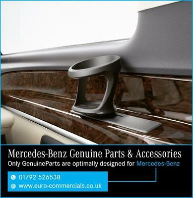 Genuine Mercedes Rear Cup Holder New 2015 Vito / V-Class (3rd Row)