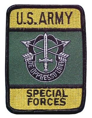 + USA Badge Abzeichen Aufnäher Patch --  FORCES -- Kutte